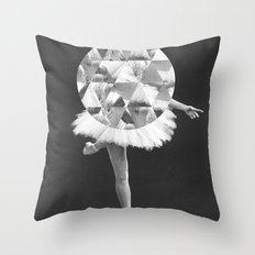 Dancing in Circles Throw Pillow