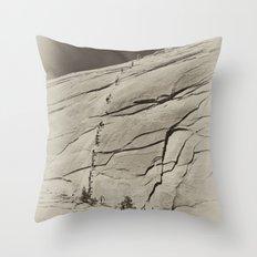 Yosemite Half Dome Hikers Throw Pillow