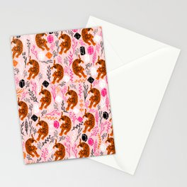 Cute Leopard Stationery Cards