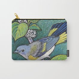 American Redstart Female Carry-All Pouch