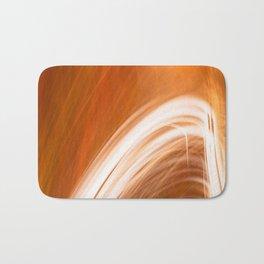 Abstract Light Streaks Bath Mat