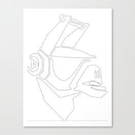 DJ Yonder Canvas Print