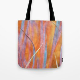 Living colours ~ Abstract  Tote Bag