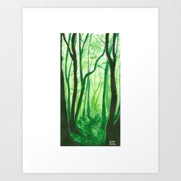 Mossy Dreams Art Print