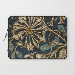 Watercolour woven fabric  Anemone (1876) by William Morris Laptop Sleeve