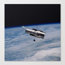 Hubble Space Telescope Photographic Print Canvas Print