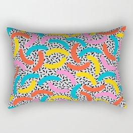 I Love Memphis Patterns Rectangular Pillow