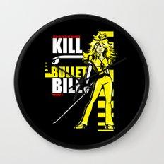 Kill Bullet Bill (Black/Yellow Variant) Wall Clock