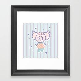 Cute Crocro Framed Art Print