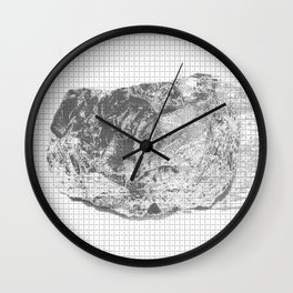 silicon dioxide (SiO2) Wall Clock