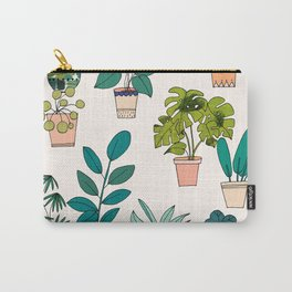 House Plants illustration Carry-All Pouch
