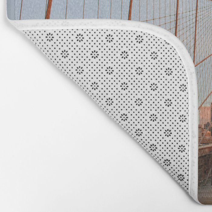 Brooklyn Bridge Sunrise Bath Mat