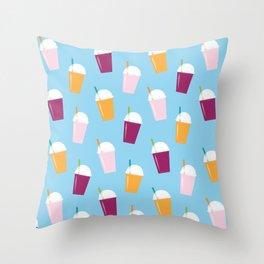 Smoothie Love Throw Pillow