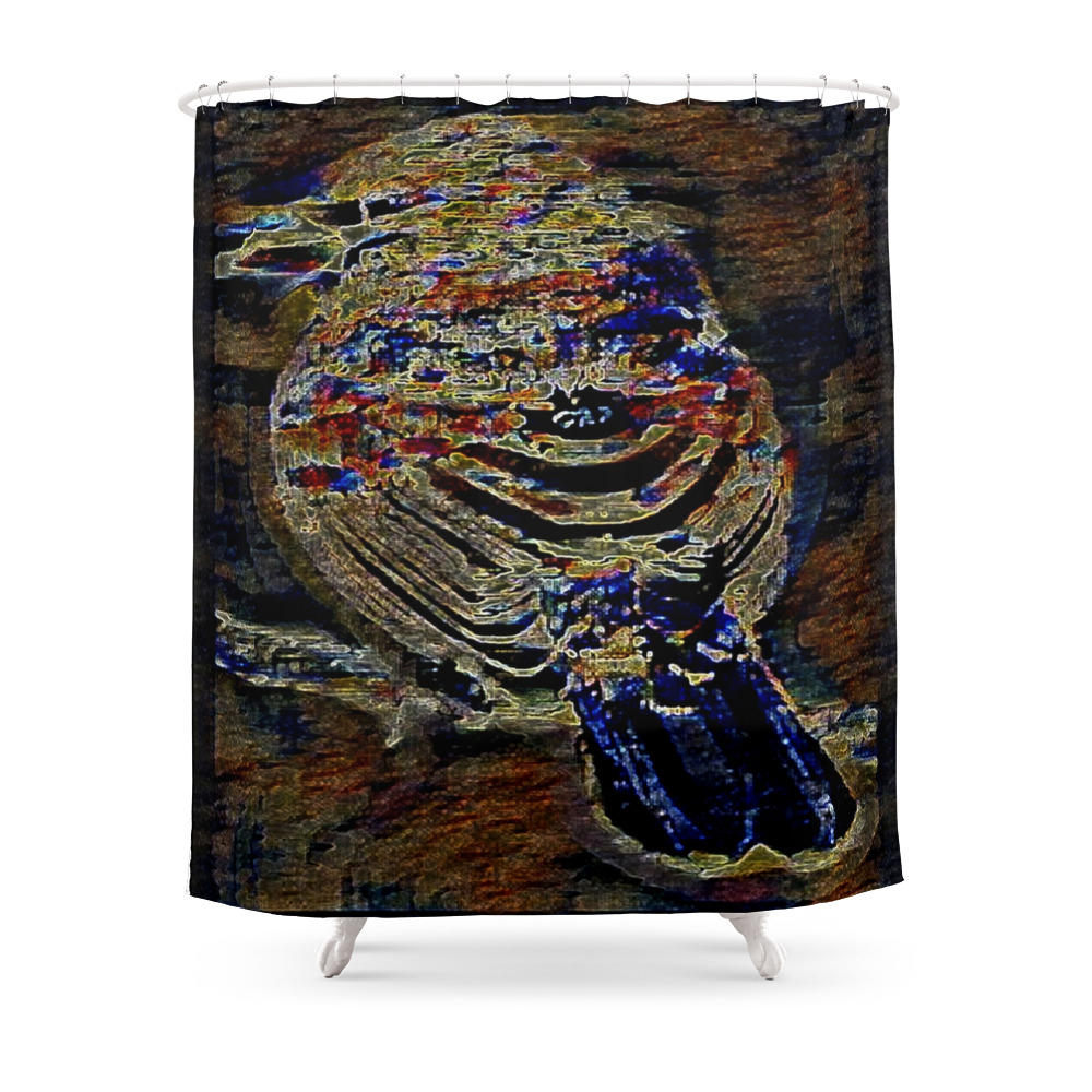 Bird Models: House Finch 01-02 Shower Curtain by timereproofportraits (CTN11177023) photo
