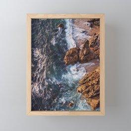 Autumn Sea Framed Mini Art Print