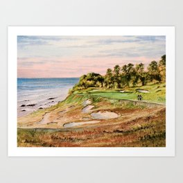 Whistling Straits Golf Course Art Print