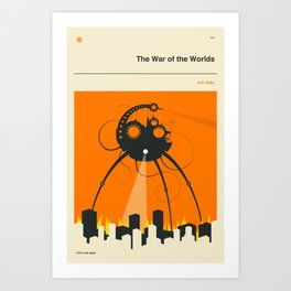 THE WAR OF THE WORLDS Art Print