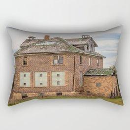 St. Clement School, Haymarsh, North Dakota Rectangular Pillow