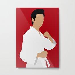 Miguel Cobra Kai karate series Metal Print