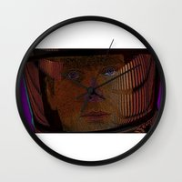 2001 Wall Clocks featuring 2001: A Space Odessey by CultureCloth