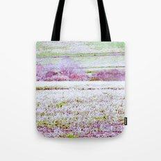 Flower Landscape Tote Bag