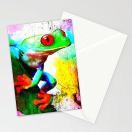 Treefrog Stationery Cards