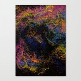 Abstract Nebula K3 Canvas Print