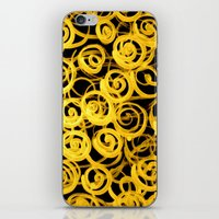 pasta iPhone & iPod Skins featuring pasta by clemm