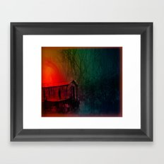Under a Watchful Eye Framed Art Print