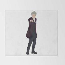 Twelfth Doctor: Peter Capaldi Throw Blanket