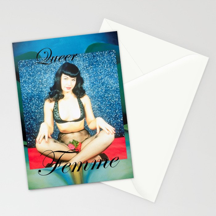 Queer Femme Bettie Stationery Cards