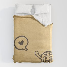 I Say Love Duvet Cover
