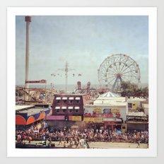Coney Island  Art Print