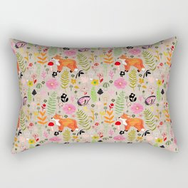 Woodland Fox Rectangular Pillow