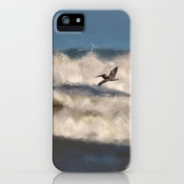 Between The Waves iPhone Case