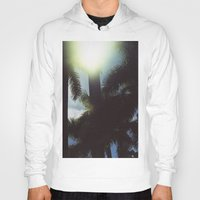 palm trees Hoodies featuring Palm Trees by IanPlath