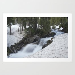 Paradise Creek Art Print