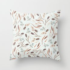 Cereal Field Pattern Throw Pillow