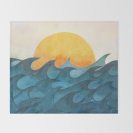 Sunrise Throw Blanket