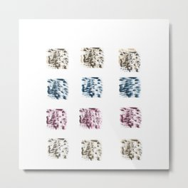 Blocks Metal Print