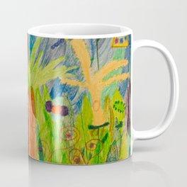 Paradise Delight   Kids Painting by Elisavet Coffee Mug