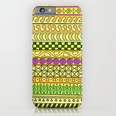 Yzor pattern 011 Yellow Things iPhone 6s Slim Case