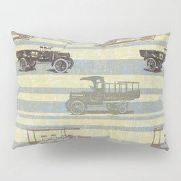 Vintage Truck Pattern Pillow Sham