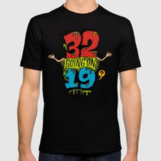 32... Mens Fitted Tee Black SMALL