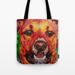 Kissable Pup Tote Bag