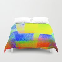techno Duvet Covers featuring Techno-Color by 2nkenn
