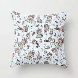 Smol Elias Throw Pillow