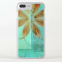Exposure Reality Flowers  ID:16165-043834-44191 Clear iPhone Case