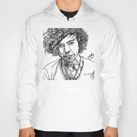harry styles Hoodies featuring Harry Styles by Hollie B