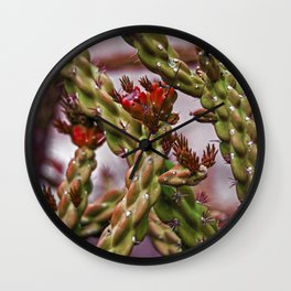 heart desert Wall Clock